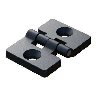 2 countersunk holes symmetric hinge