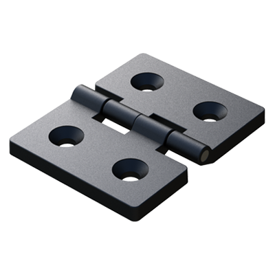 4 countersunk holes symmetric hinge