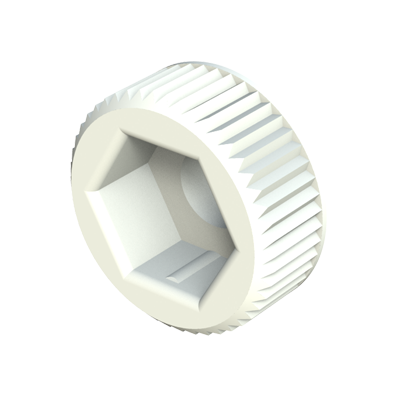 Hexagonal round thumb screw knob