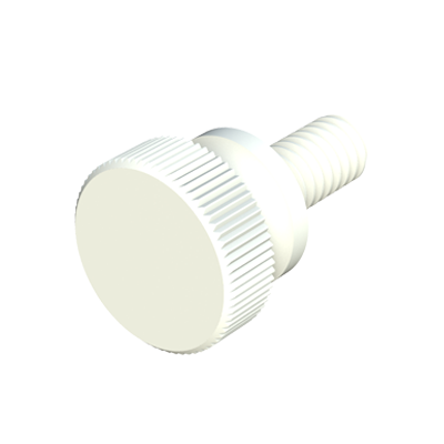 Knurled head thumb screw